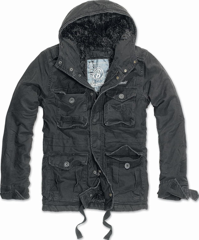 Brandit Vintage Diamond Jacket black
