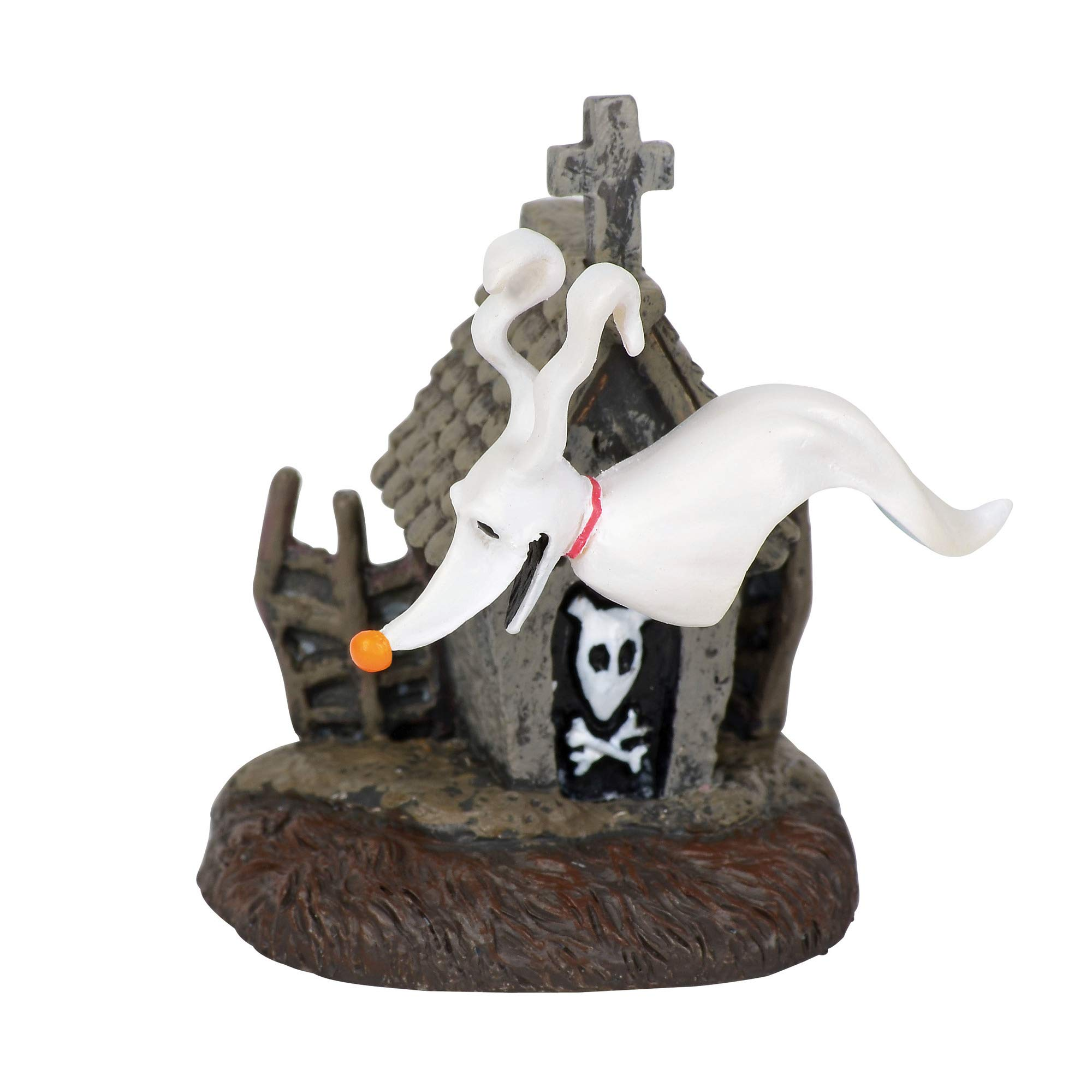 Department56 Nightmare Before Christmas Village Accessories Zero and his Dog House Figurine, 2'', Multicolor by Department56