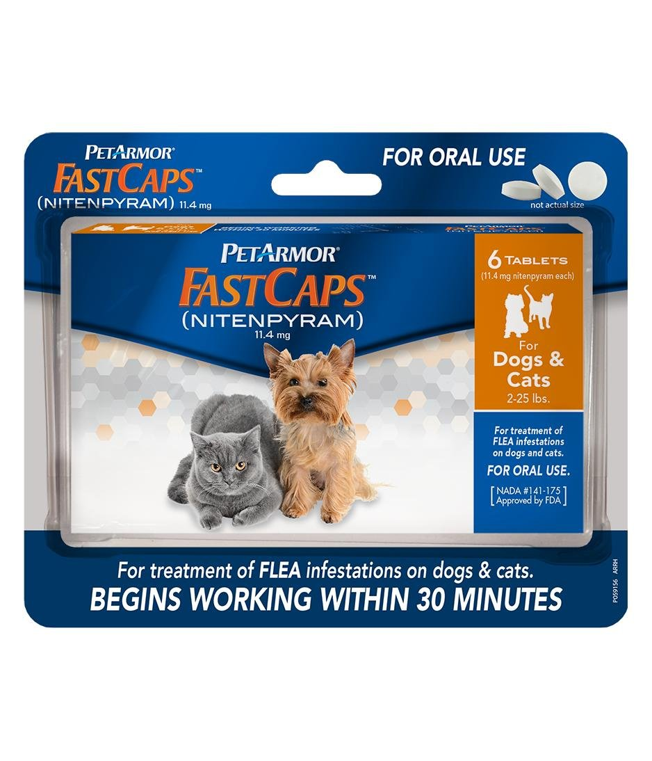 Petarmor 6 Count Fastcaps For Dogs 2-25 Lb 2