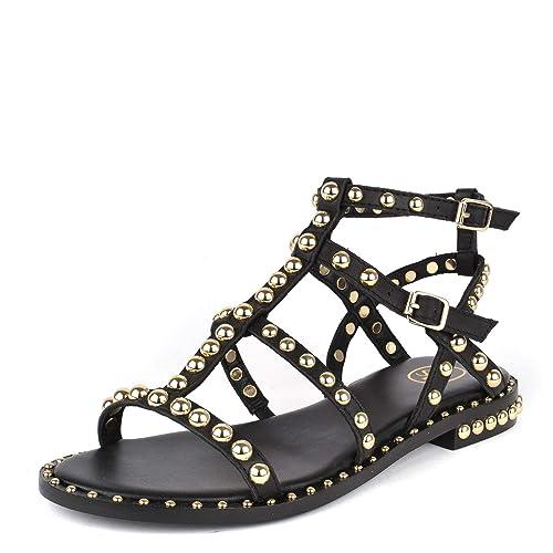 PlanasDe Footwear Sandalias Cuero Ash Precious Negro N0wm8n