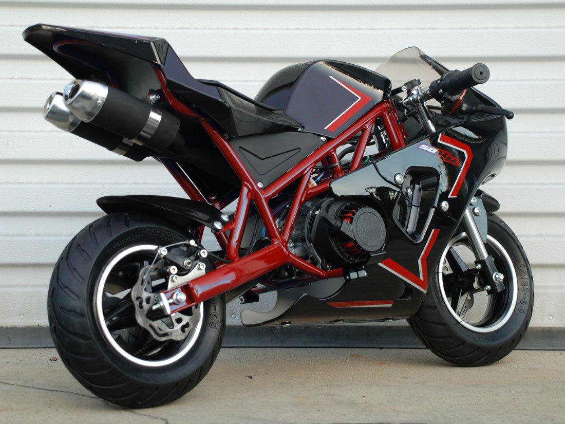 50rr 2-Stroke Gas Pocket Bike Mini Bike