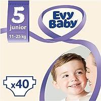 Evy Baby Bebek Bezi 5 Beden Junior Dev Paket, 40 Adet