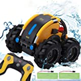 Apsung Remote Control Car, 1/24 Scale Amphibious Vehicle for Kids 2.4GHz Off Road RC Truck with 4WD Electric Toy Car…