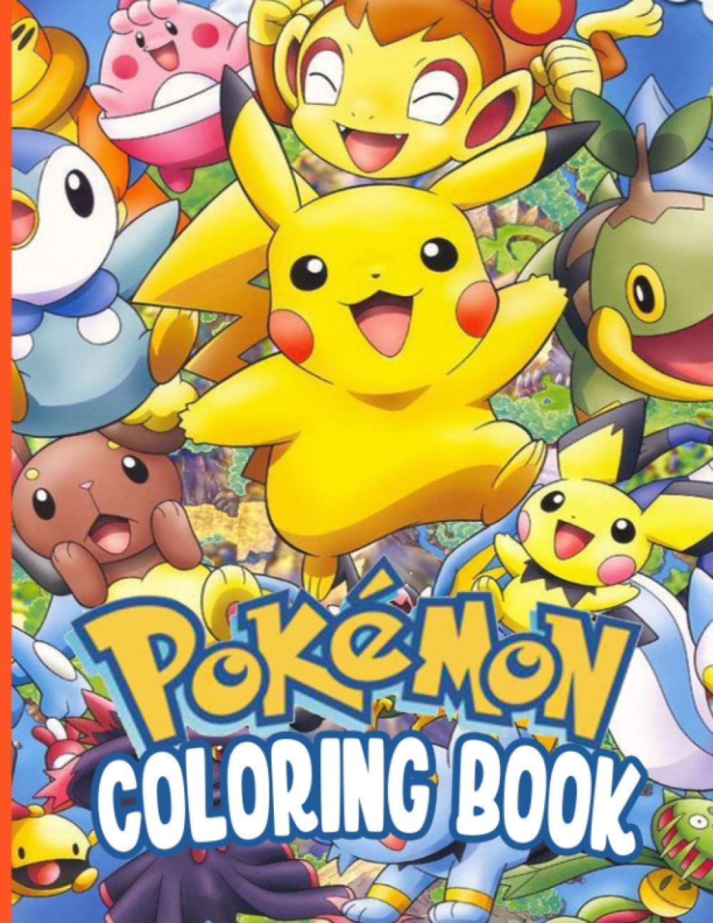A Flawless Coloring Book For Kids With Unique Images Of Pokemon To Kick Back And Have Fun