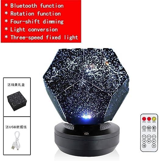 LED Estrellado Cielo Nocturno Proyector Lámpara Estrella Luz ...