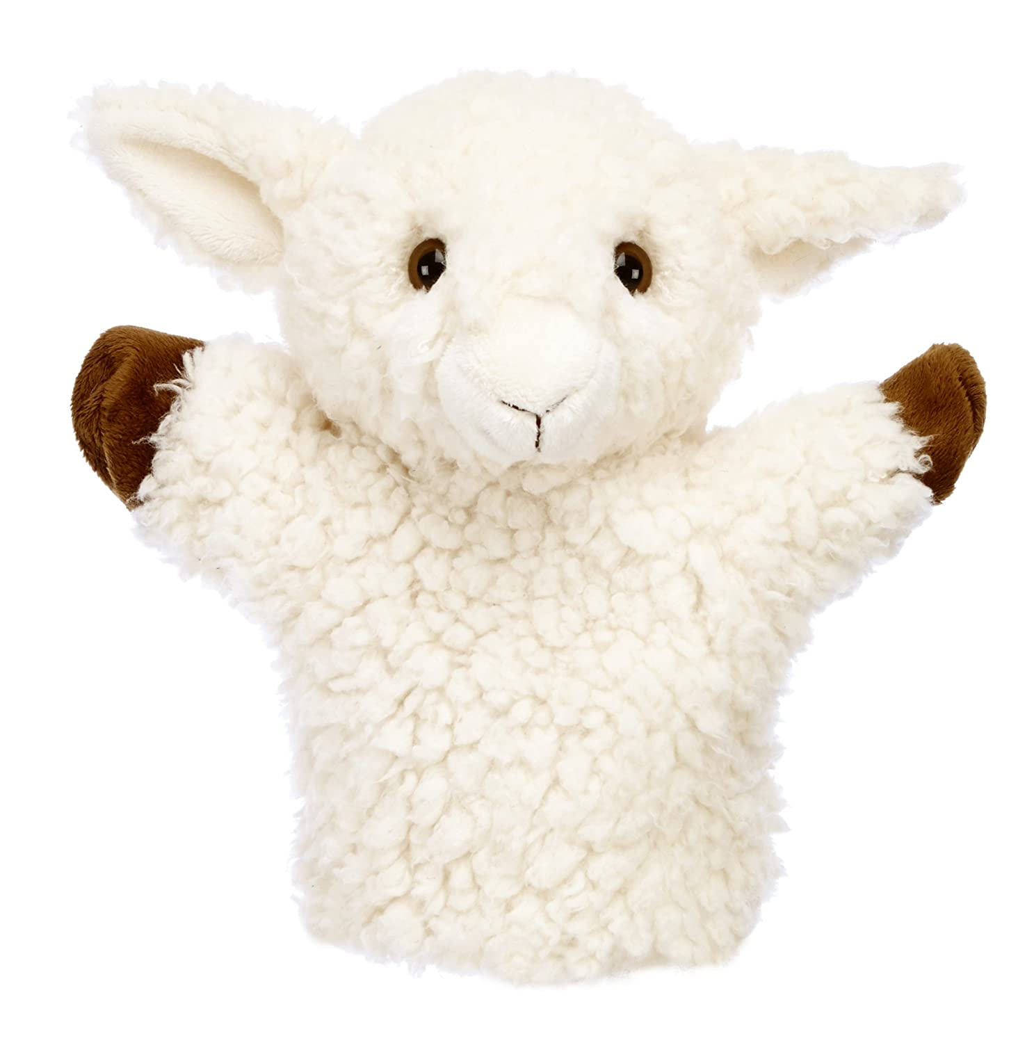 The Puppet Company CarPets White Sheep Hand Puppet