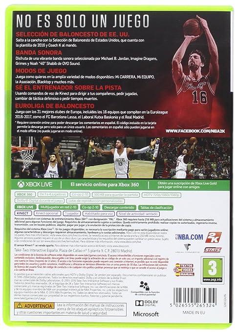 NBA 2K17 - Edición Estándar: sony playstation3: Amazon.es: Videojuegos