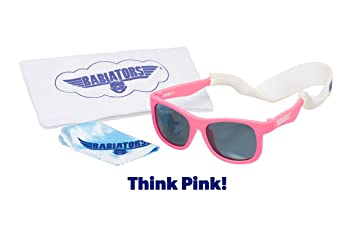 5126dfb6513 Image Unavailable. Image not available for. Color  Babiators Gift Set - Think  Pink! Navigator Sunglasses ...