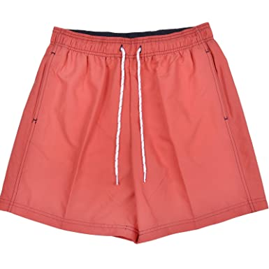 f9231374e6 Marks And Spencer Mens Red Quick Dry Swim Shorts M&S Beach Holiday Swimwear  - S