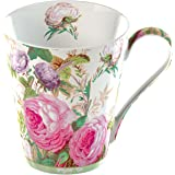 Creative Tops 1-Piece Fine Bone China V&A Brompton Rose Mug in a Gift Box, Pink