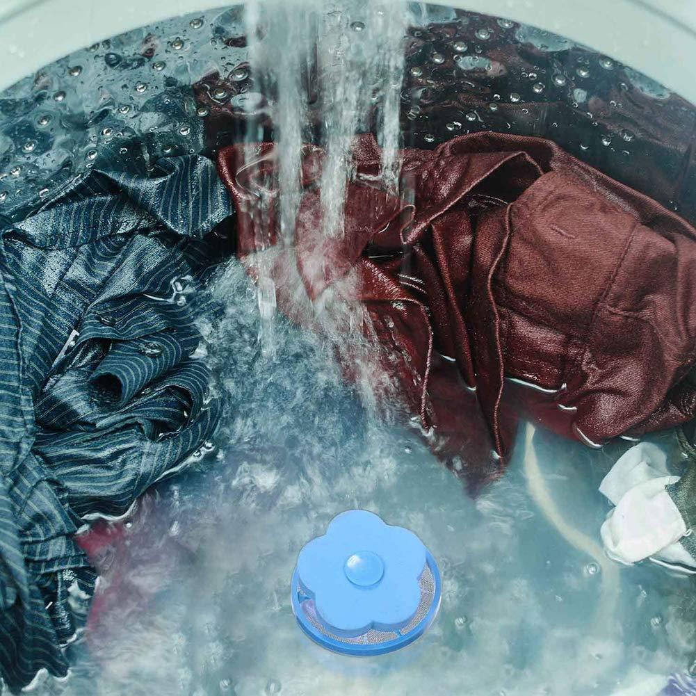 fhjnszedth Reinigungszubeh/ör Netzfilterbeutel Haarentfernung Universalreinigung Schwimmende Haarballen Dekontamination von Schmutzhaarfilter
