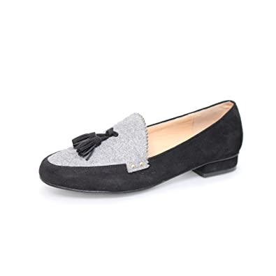 42d2ccd933c Lunar Womens Codey Ocelot Panel Loafers  Amazon.co.uk  Shoes   Bags