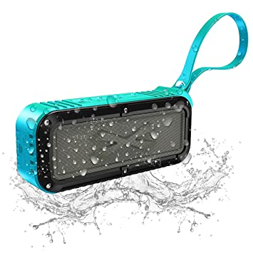 Review Bluetooth Speaker,Portable Waterproof Outdoor