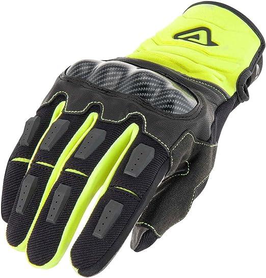 Acerbis 0022214 279 069 Handschuh Carbon G 3 0 Gelb Schwarz Xxl One Size Auto