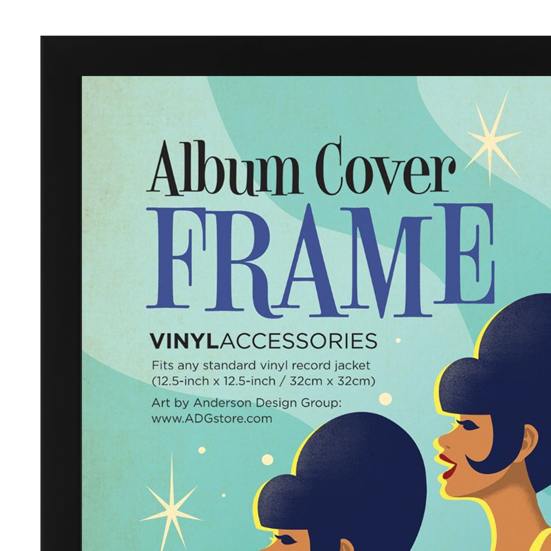 Amazon.de: Schwarzer Schallplatten Album Rahmen 31, 75x31, 75 cm
