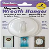 "Magnetic Wreath Hanger 2-1/2""-White (F-901)"