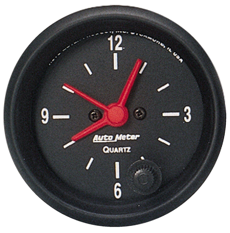 Auto Meter 2632 Z-Series 2-1/16' 12 Volt Short Sweep Electric Quartz Clock