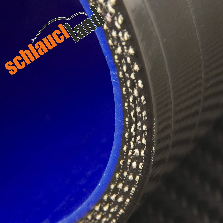 Silikonschlauch 45/° Innendurchmesser 38mm schwarz ***