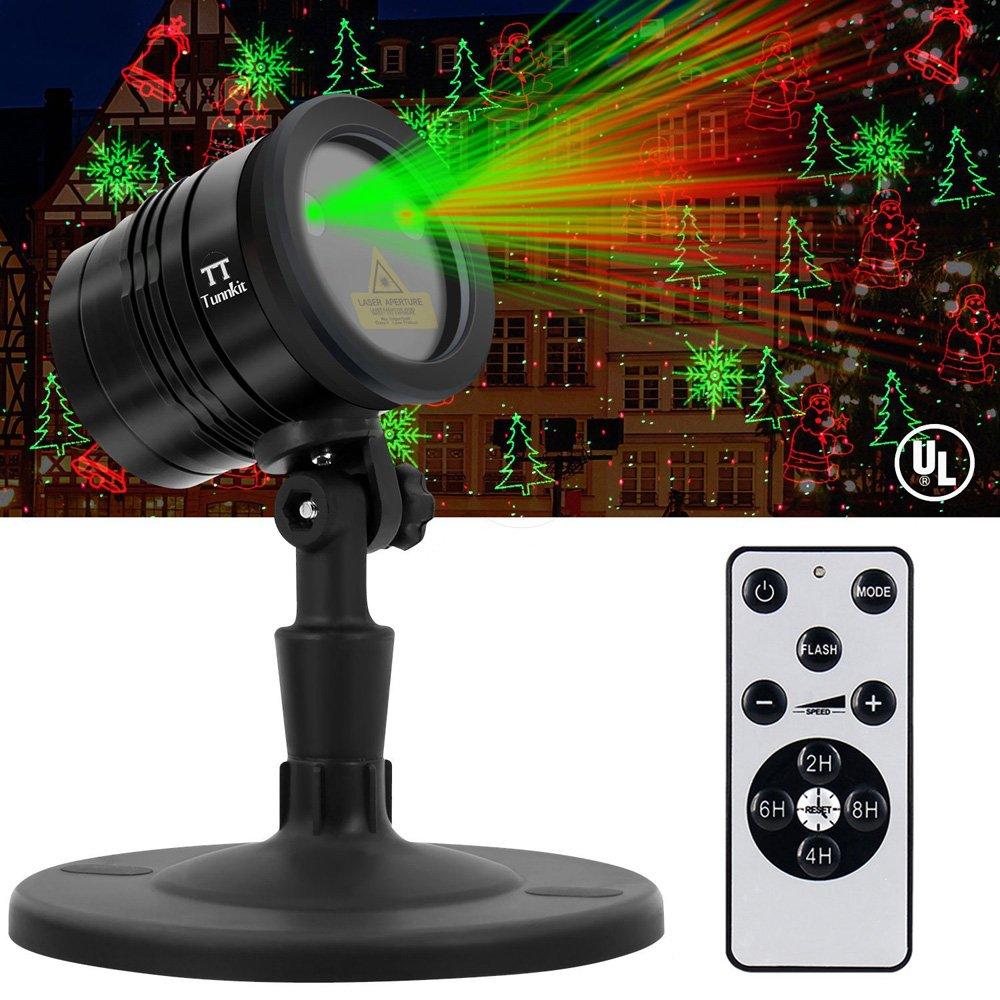 Jardín Navidad proyector–tunnkit neuerscheinung multifuncional impermeable lámpara de jardín con mando a