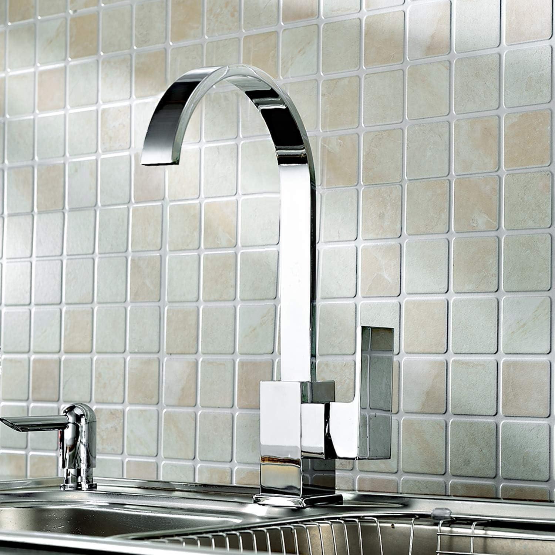 Kitchen Mixer Tap 360/º Swivel Spout Monobloc Single Lever 10 Years Warranty Brushed Gold