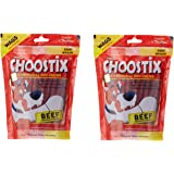 Choostix Dog Treat, Beef, 450 g (Pack of 2)