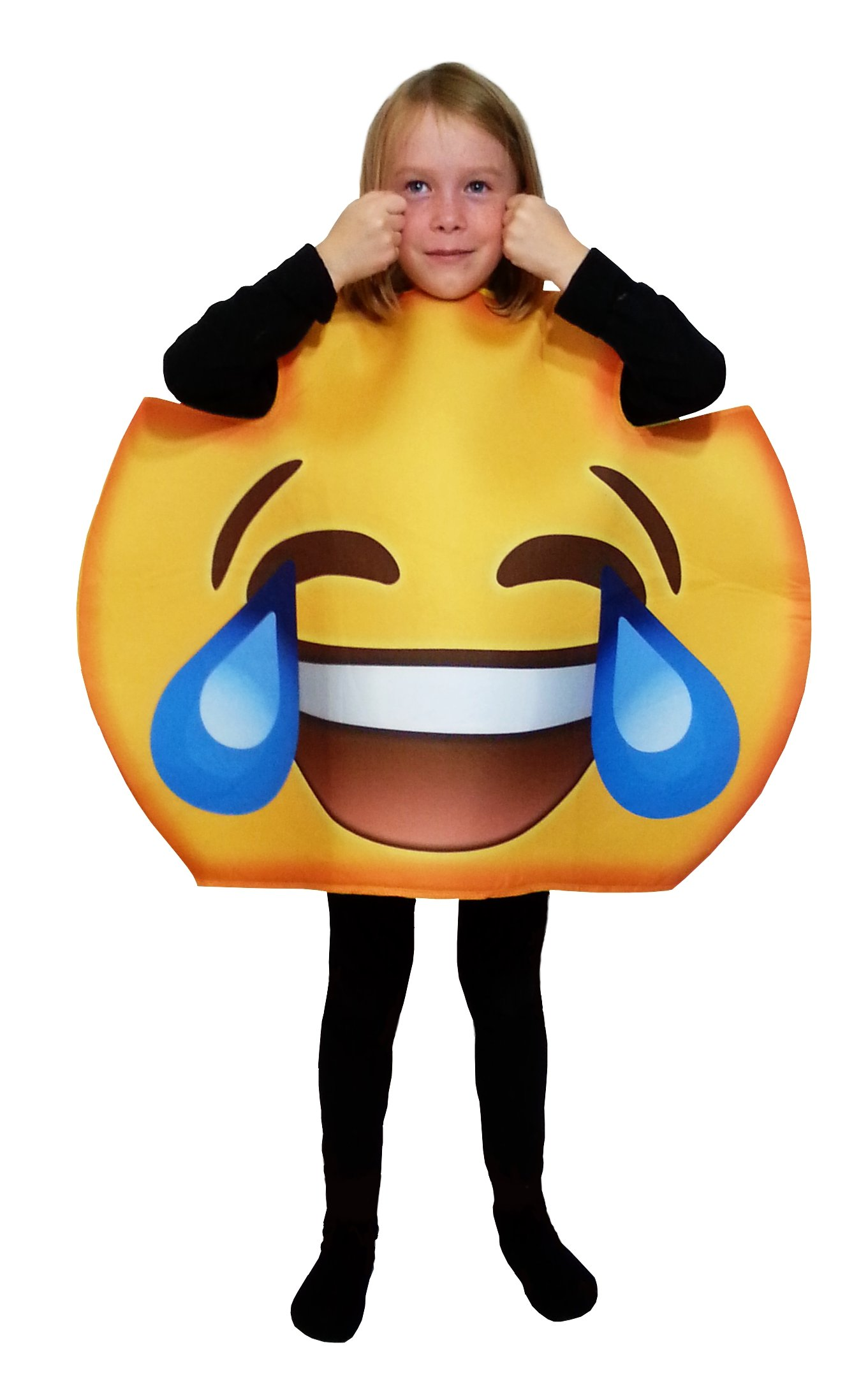 Favorite Emoticon Emoji Costumes for Boys and Girls (Child, Laugh Cry)