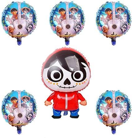 Amazon.com: 6 globos grandes de Coco Movie Miguel para ...