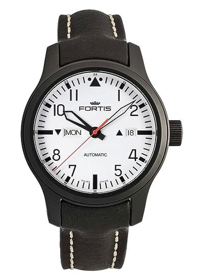 Fortis Hombre Reloj de pulsera b de 42 Nocturnal Fecha Día de la semana analógico automático
