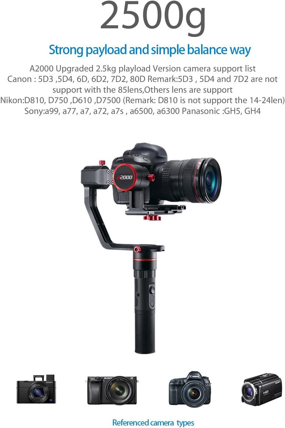Feiyutech A2000 Upgraded Dual Grip Handle Kit Für Ony Kamera