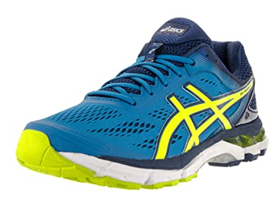 Asics Men's Gel-Pursue 2 Electric Blue/Flash Yellow/Navy Running Shoe 12