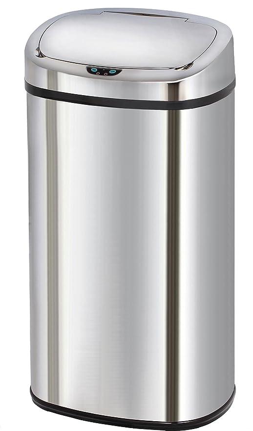 Kitchen Move - Cubo de Basura automático, 42 l, Acero ...