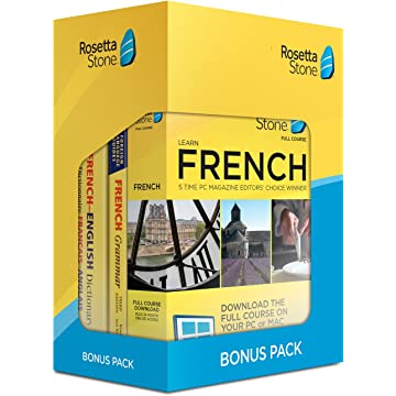 powerful Learn French: Rosetta Stone Bonus Pack