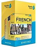 Learn French: Rosetta Stone Bonus Pack (24 Month Subscription + Lifetime Download + Book Set)