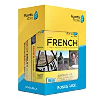 Rosetta Stone Learn French: Rosetta Stone Bonus Pack 24 Month Subscription with Lifetime Download