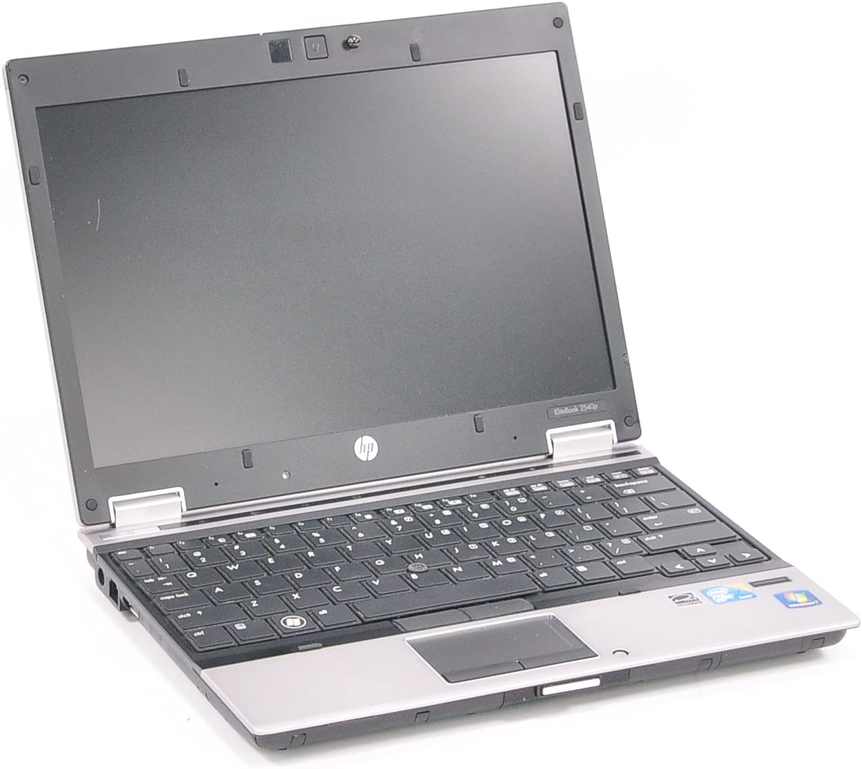 "HP EliteBook 2540p 2.13GHz Core i7 640LM 2GB 250GB DVD+/-RW BT FP 12.1"" Win 7 Pro"