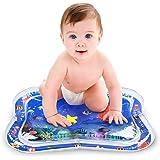 BOIROS ベビーウォーターマット 怪我防止 赤ちゃん用 赤ちゃんの刺激の成長ためにのゲーム道具 赤ちゃんに向け かわいい 海底世界 赤ちゃんの座布団 水遊びマット ベビージム 新生児から対象 自宅でも水遊び 知育玩具 出産祝い