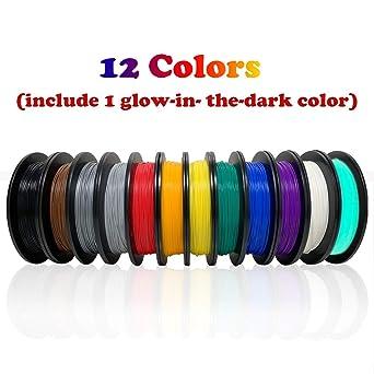 Amazon.com: Dikale PLA - Filamento para impresora 3D, 2.2 ...