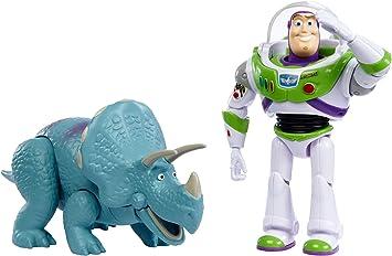 Disney - Toy Story 4 Pack de 2 Muñecos, Buzz y Trixie, Juguetes ...