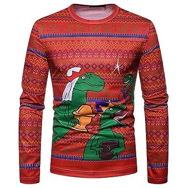 Cool Unisex Christmas Pullover Sweatshirts Men Women 3D
