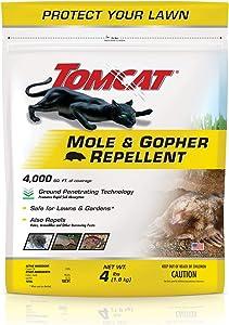 Tomcat Mole & Gopher Repellent Granules, 4 lb