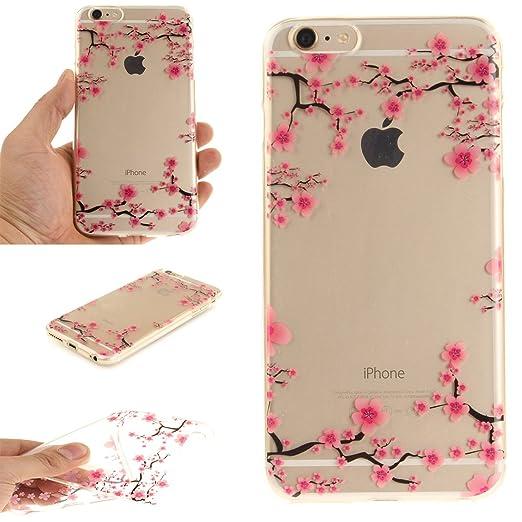 7 opinioni per Cover iPhone 6S Cover iPhone 6 Wanxida Custodia in Silicone TPU Cover