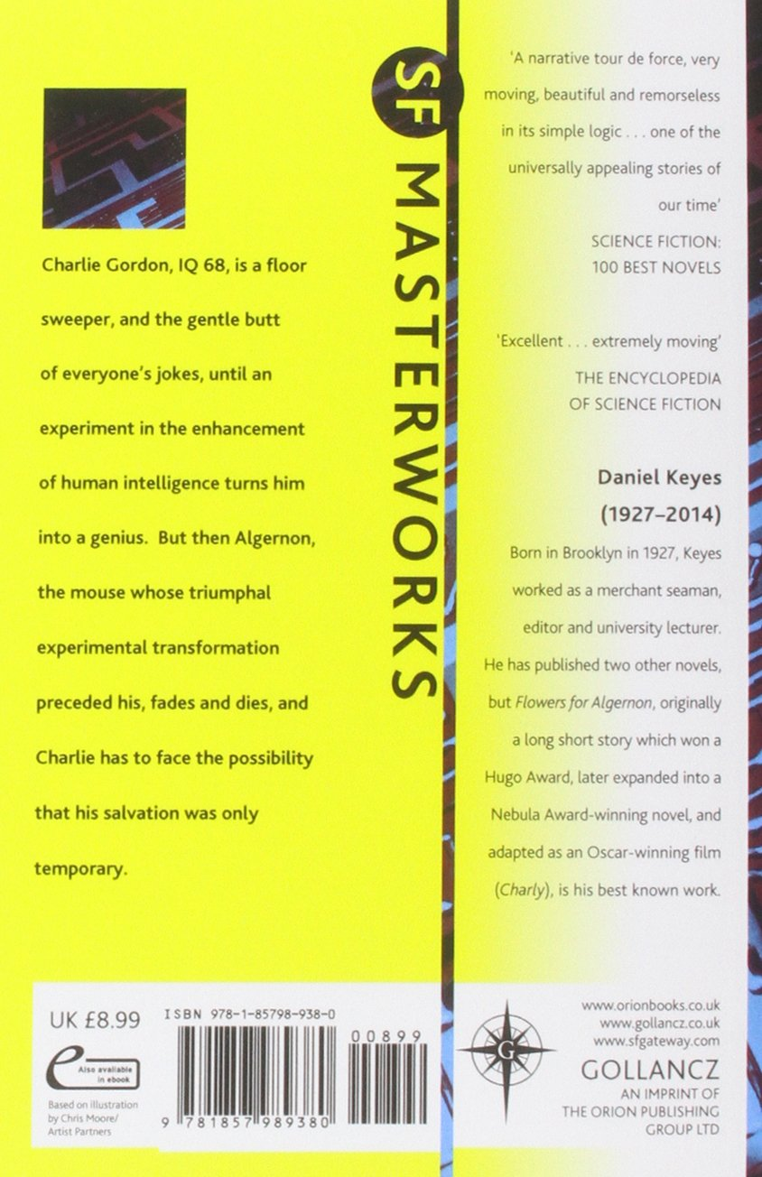 Flowers For Algernon Sf Masterworks Amazon Daniel Keyes