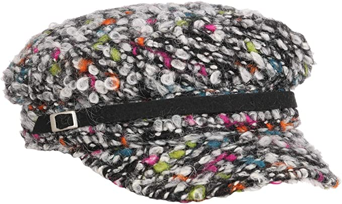 Lierys Gorra Marinera Multicolour Wool Mujer - Made in Italy de ...