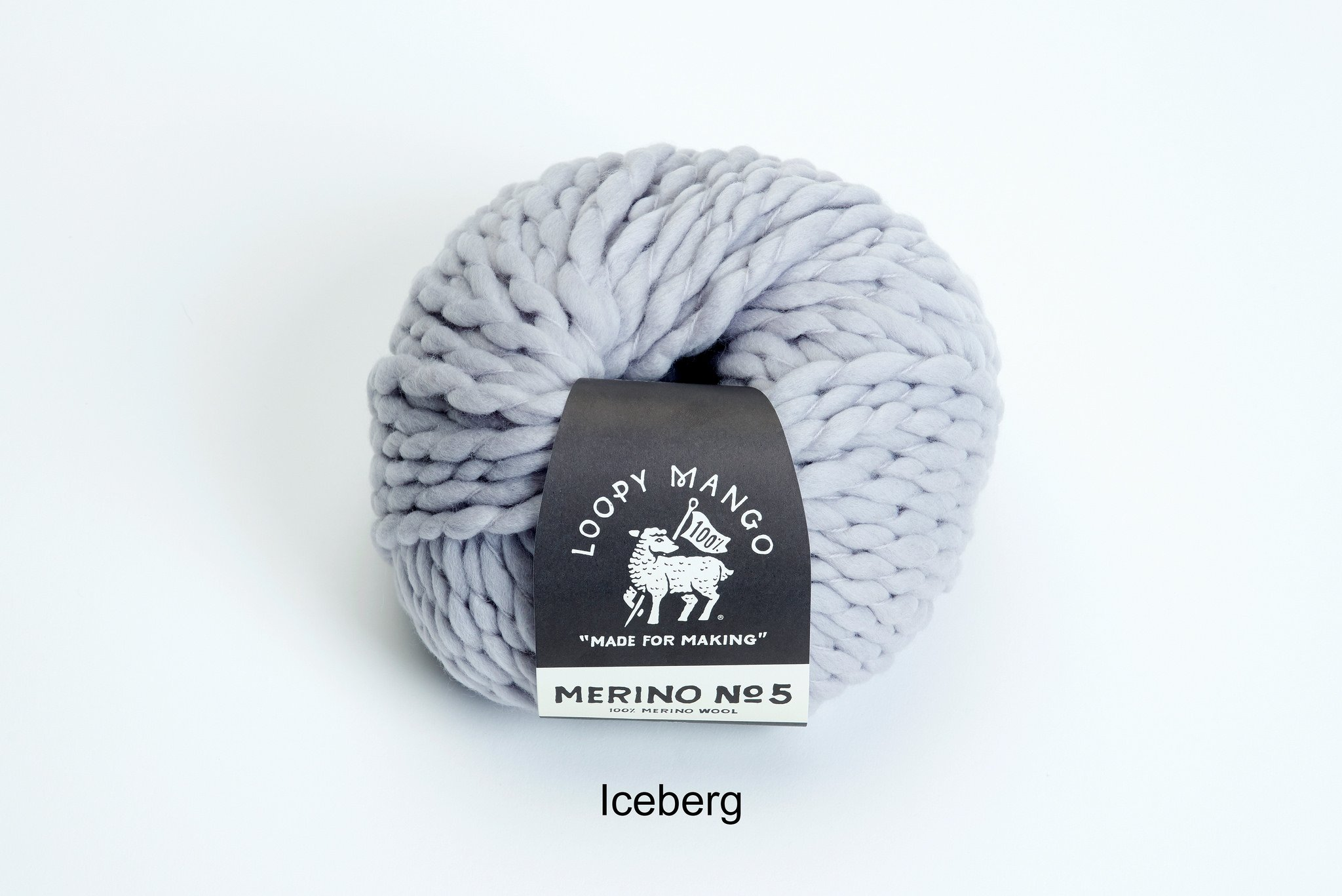 Loopy Mango DIY All You Knit Kit - My First Scarf (Iceberg) by Loopy Mango (Image #6)