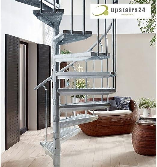 Escalera Caracol Exterieur en Kit K2 120 – 200 cm: Amazon.es: Bricolaje y herramientas