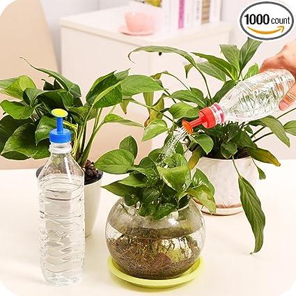 Bottle Top Watering Garden Plant Sprinkler Water Seed Seedlings Irrigation