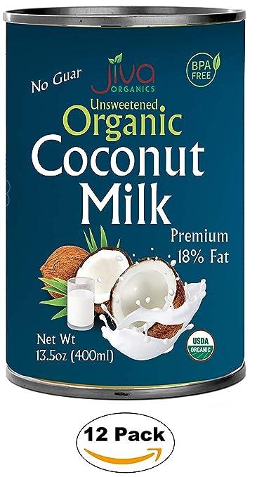 Organic Coconut Milk 13.5 Oz (Pack Of 12) Premium ...