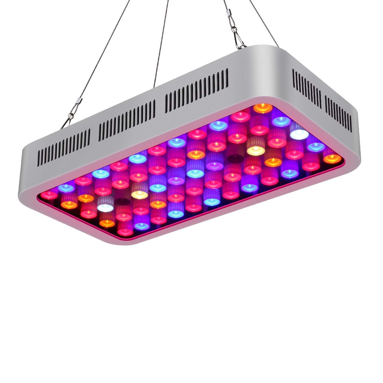 TOPLANET Led Grow Light 600W Plant Lamp Dual Light Channel Veg/Bloom for Indoor Garden Greenhouse Grow Tent Hydroponic Yougelai