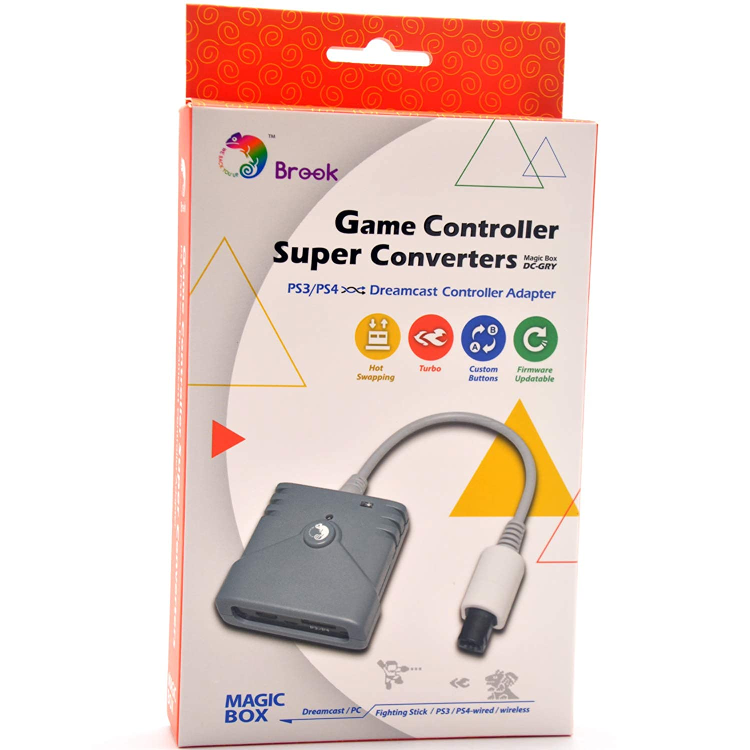 3 In 1 Gc To Wiiu Pc Switch Converter Ngc Controller Adapter Game Cube Computer Supplies Handle Converter Hot In Pain Computer & Office