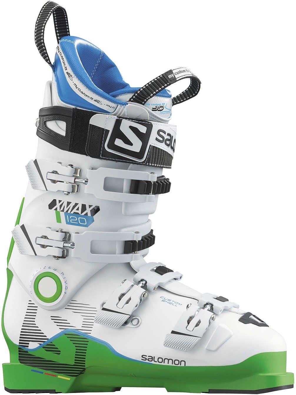 SALOMON(サロモン)X MAX 120 スキーブーツ 大人用 レーサー エキスパート向け L37812800 緑白い 緑/白い 27.5cm